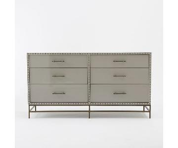 West Elm Nailhead 6-Drawer Dresser