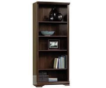 Sauder Carolina Estates Chestnut Finish Bookcase