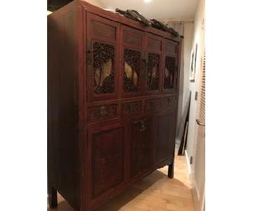 ABC Carpet & Home Antique Chinese Armoire