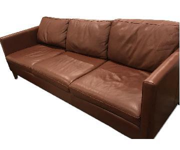Room & Board Kent Sofa in Bison Teak