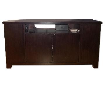 Crate & Barrel Large TV Stand/Media Center Cabinet