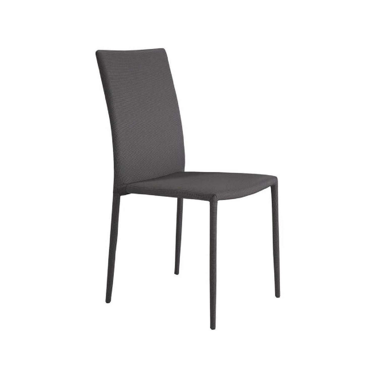 Gray & Black Dining Chair