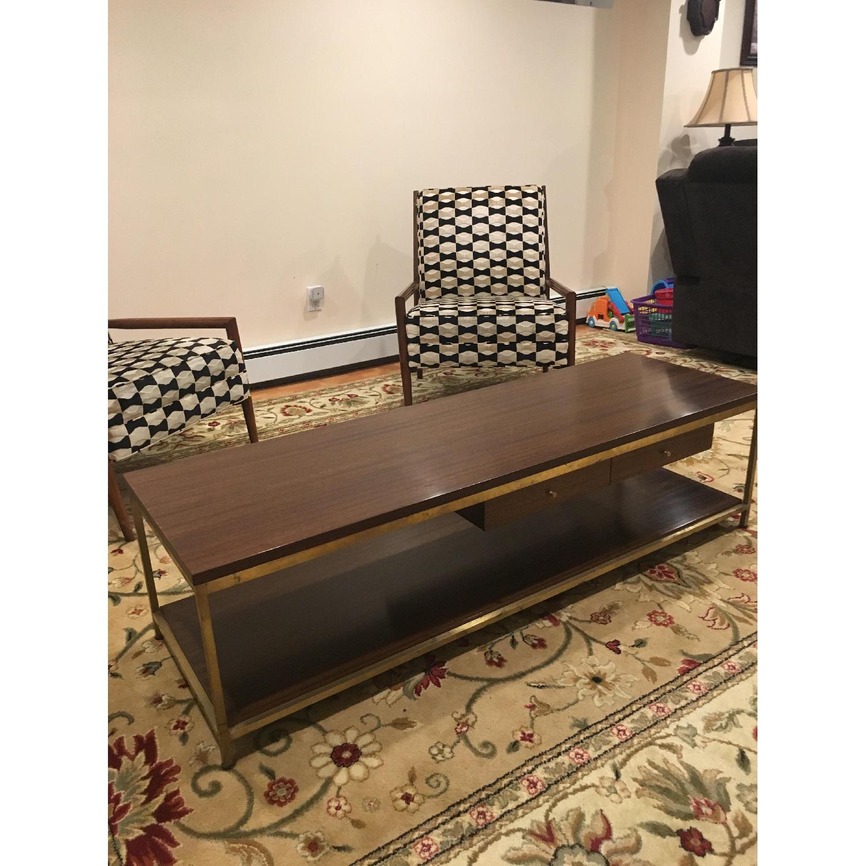 Paul Mccobb Mid Century Irwin Collection Brass Coffee Table - image-1