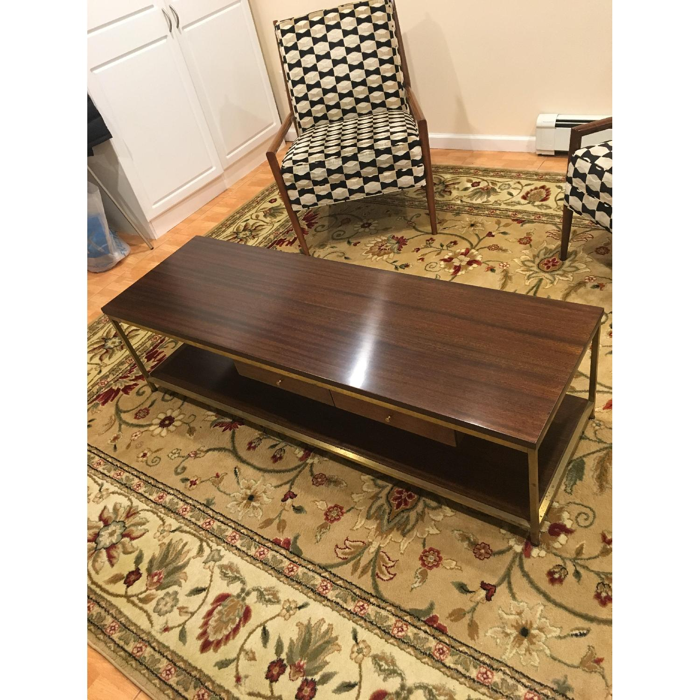 Paul Mccobb Mid Century Irwin Collection Brass Coffee Table - image-2