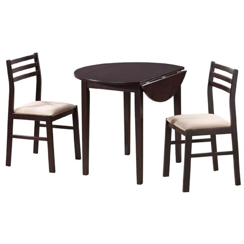 Coaster 3-Piece Cappuccino Breakfast/Dining Set