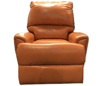 Klaussner Furniture Julio Leather Power Reclining Chair