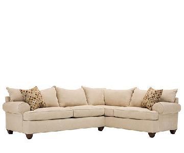 Raymour & Flanigan 2-Piece Sectional Sofa