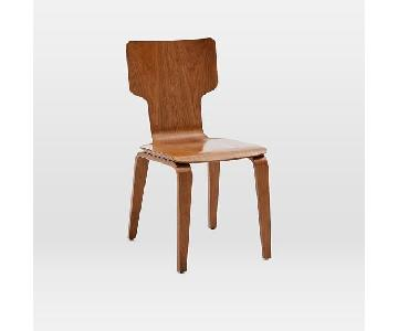 West Elm Stackable Wood Dining Chair