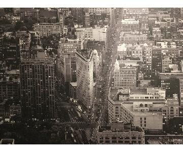Large Canvas Print of the Flatiron