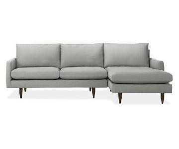 Room & Board Jasper 2-Piece Sectional Sofa