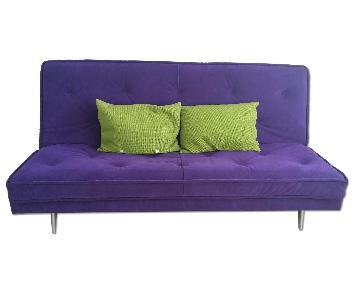 Ligne Roset Nomade Express Sleeper Sofa in Violet