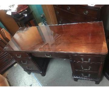 Williamsport Furniture Company Antique 1930s Desk