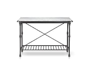 Crate & Barrel French Marble Island