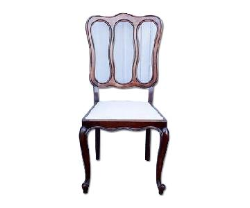 Antique French Country Reupholstered Louis XV Dining Chair