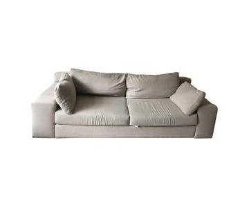 Design Within Reach Ivory Simpatico Sofa