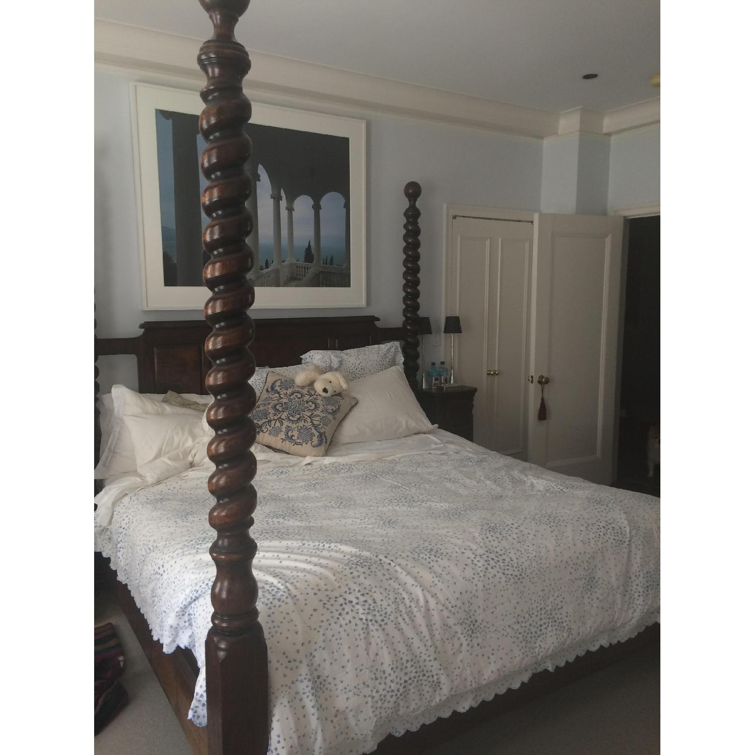 Four Poster King Size Bed-0