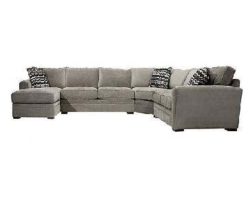 Raymour & Flanigan Artemis ll 3-Piece Sectional Sofa