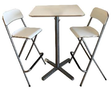 KEA Franklin high chairs - 2 chairs