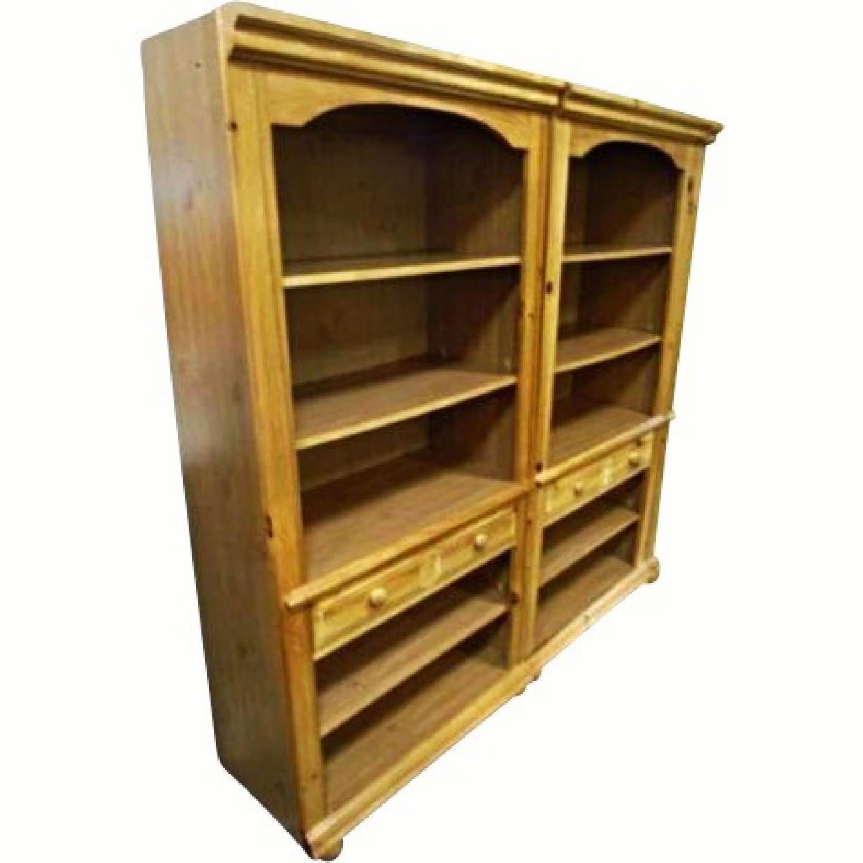 Broyhill Pine Wood Bookcase - image-3