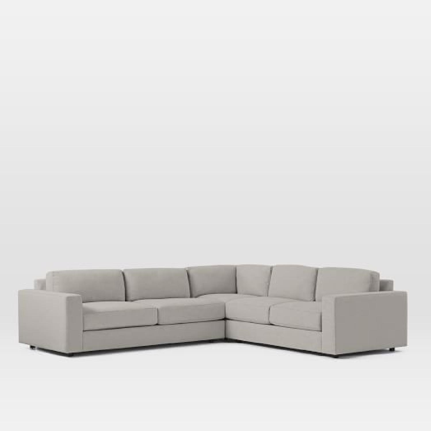 100 Furniture West Elm Henry Sectional Gripping Concept