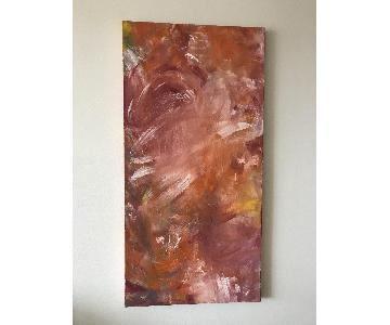 Swept Away - Original Oil Painting Signed
