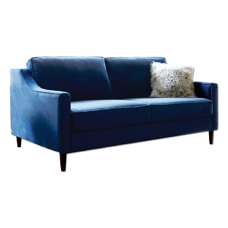 West Elm Paidge Sofa w Legs in Ink Blue Performance AptDeco : 1500 1500 frame 0 from www.aptdeco.com size 1500 x 1500 jpeg 86kB