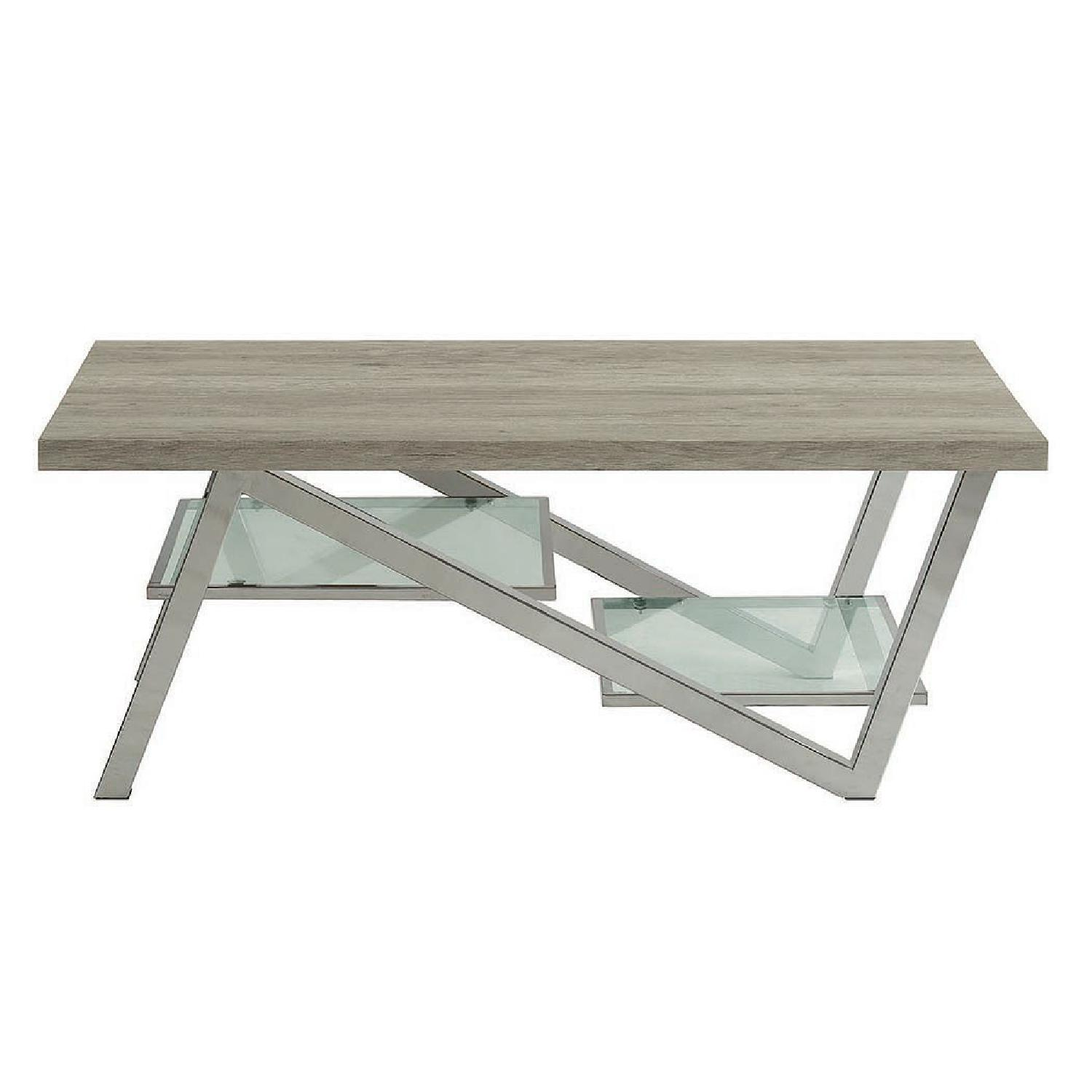 Quorra Light Grey Coffee Table