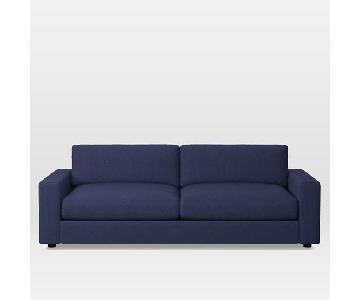 West Elm Urban Sleeper Sofa in Nightshade Mod Weave