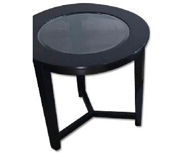 Ashley's Furniture Brown Two Side Tables
