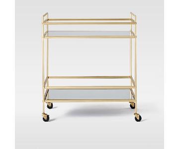 West Elm Terrace Bar Cart