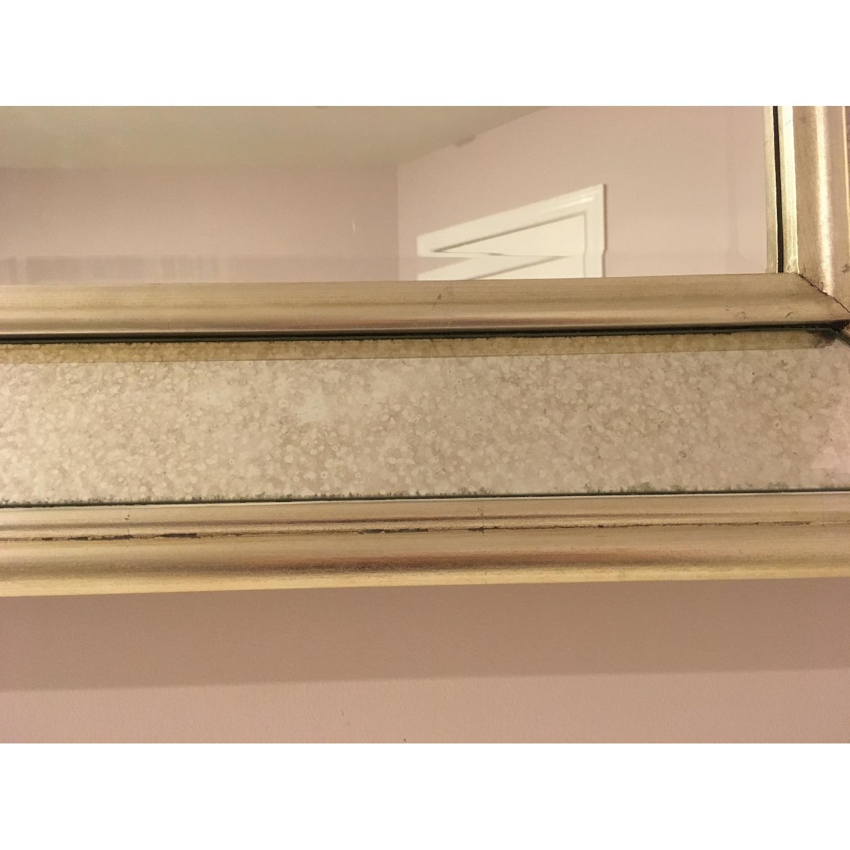 Ballard Designs Orion Leaner/Wall Mirror in Antique Silver-0