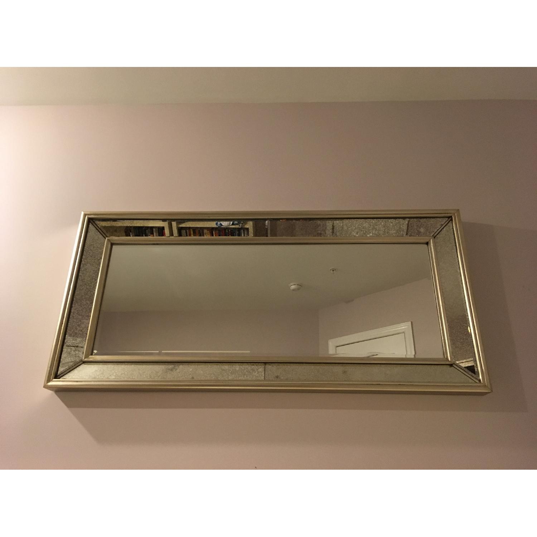 Ballard Designs Orion Leaner/Wall Mirror in Antique Silver-2