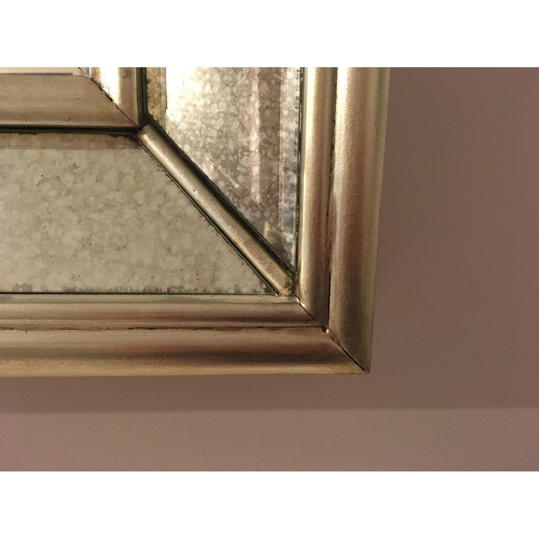 Ballard Designs Orion Leaner/Wall Mirror in Antique Silver-3