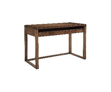 Dark Wooden Home Office Desk