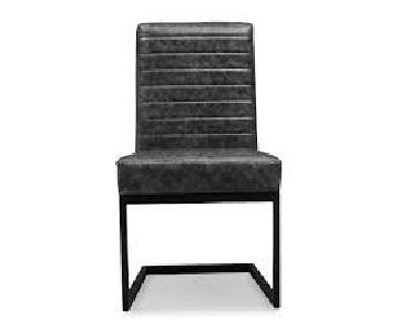 Modern Gray and Black Chair