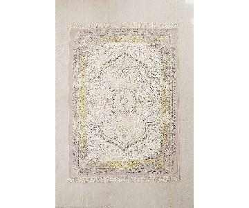 Urban Outfitters Iona Dotted Medallion Print Rug