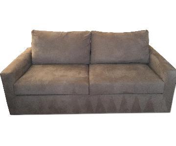 Overnight Sofa Corporation Mocha Colored Sleeper Sofa