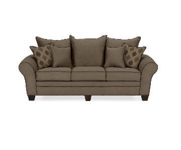 American Signature Microfiber Sofa
