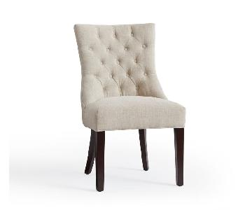 Pottery Barn Hayes Tufted Dining Chair