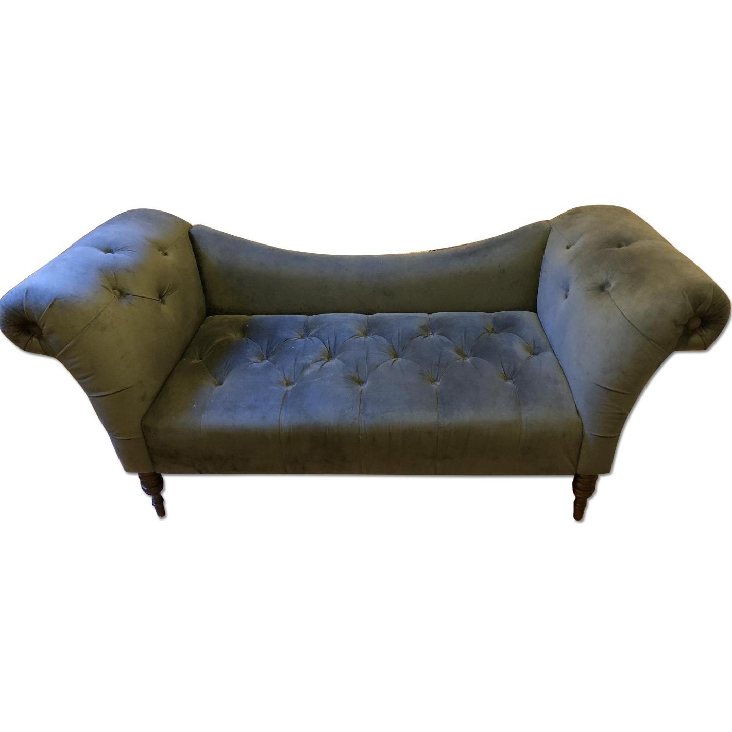 wave info outfitters tufted sleeper improvement room velvet home couch blue sofa for j urban living