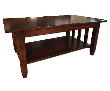 Solid Wood Shaker Coffee Table