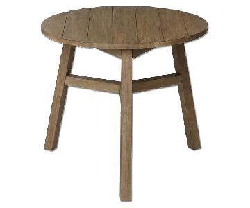 West Elm Jardine Bistro Table in Driftwood