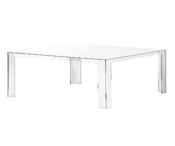Kartell Invisible Acrylic Coffee Table