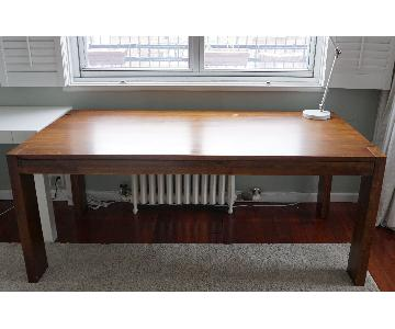 West Elm Solid Mango Wood Dining Table