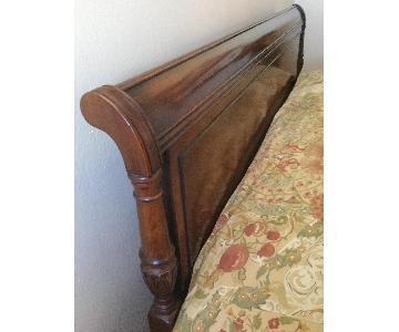Drexel Mahogany Mid-Century Traditional Full Size Headboard