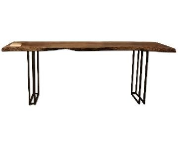 From The Source Custom Ingus Wood Bar Table