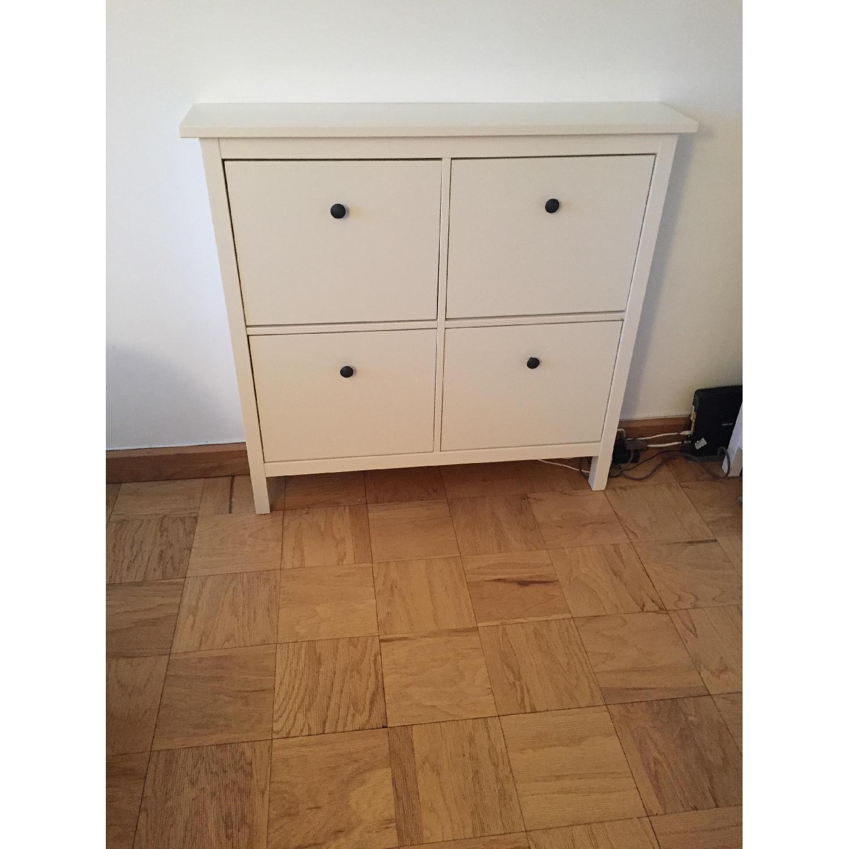 ... Ikea Hemnes Shoe Cabinet W/ 4 Compartments 0 ...