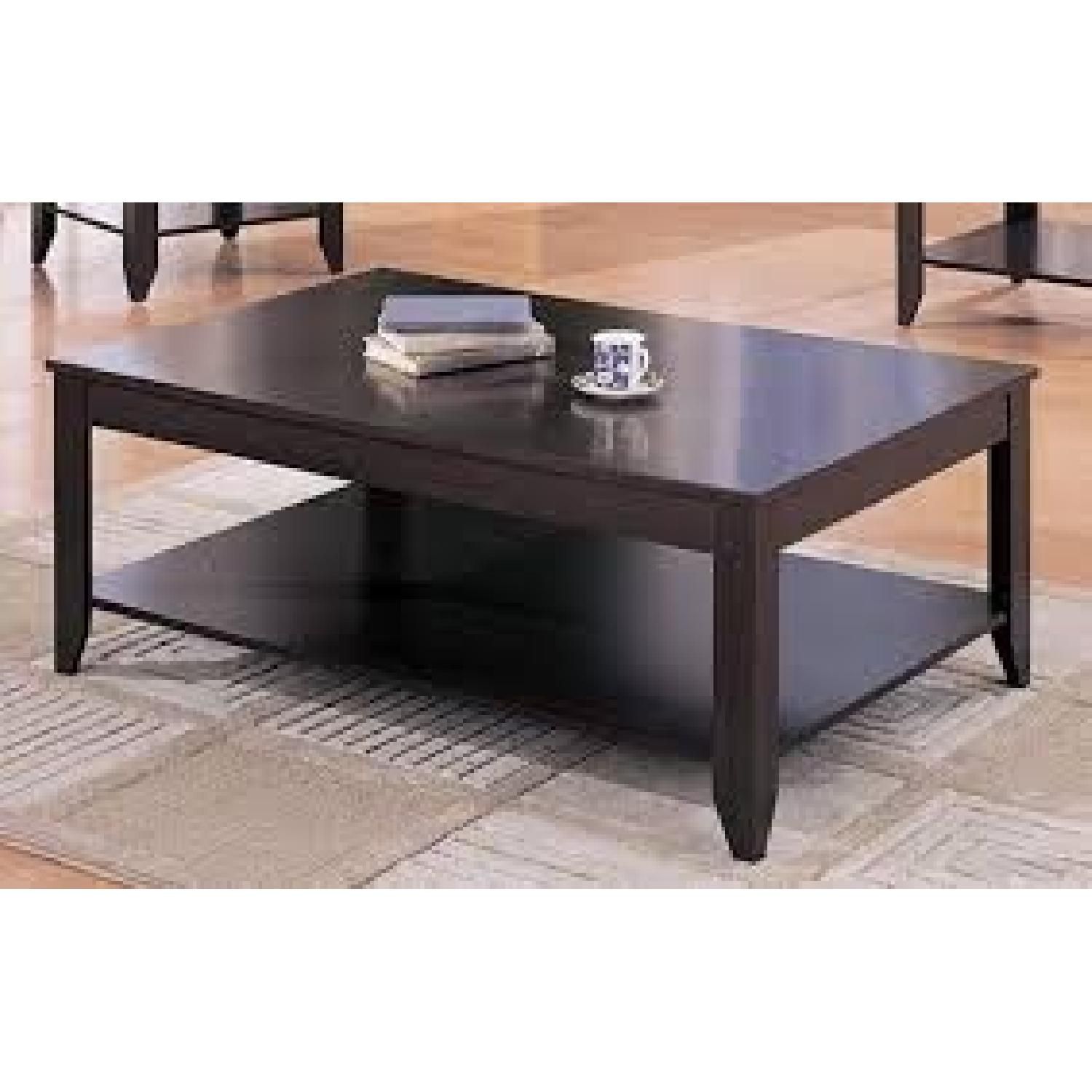 Coaster 3 Piece Occasional Tables Set in Cappuccino-0