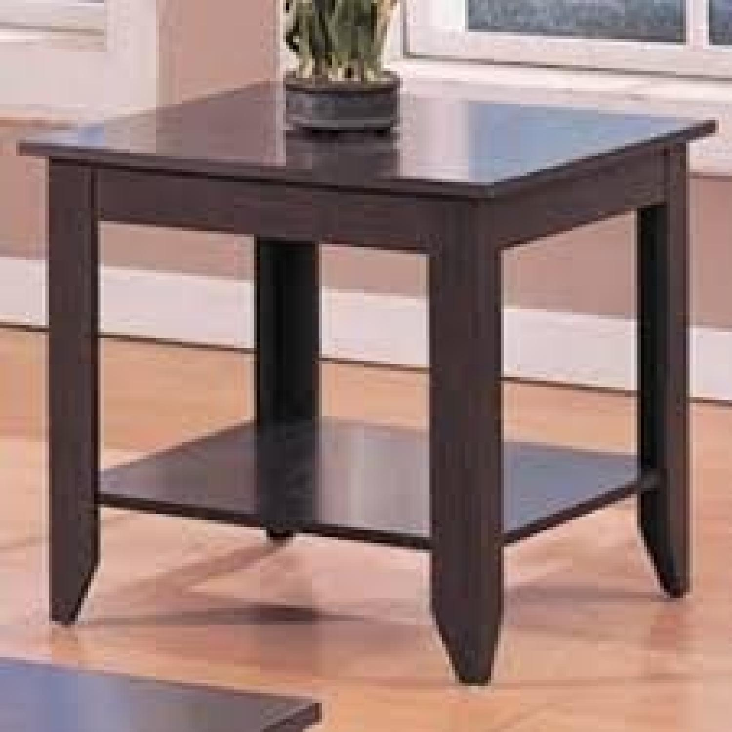 Coaster 3 Piece Occasional Tables Set in Cappuccino-1