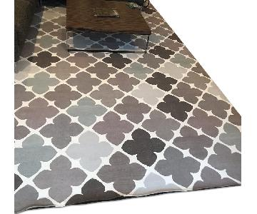 ABC Carpet and Home Patterned Dhurrie Rug